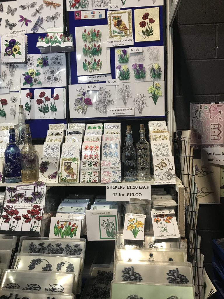 Acetate Stall at craft show