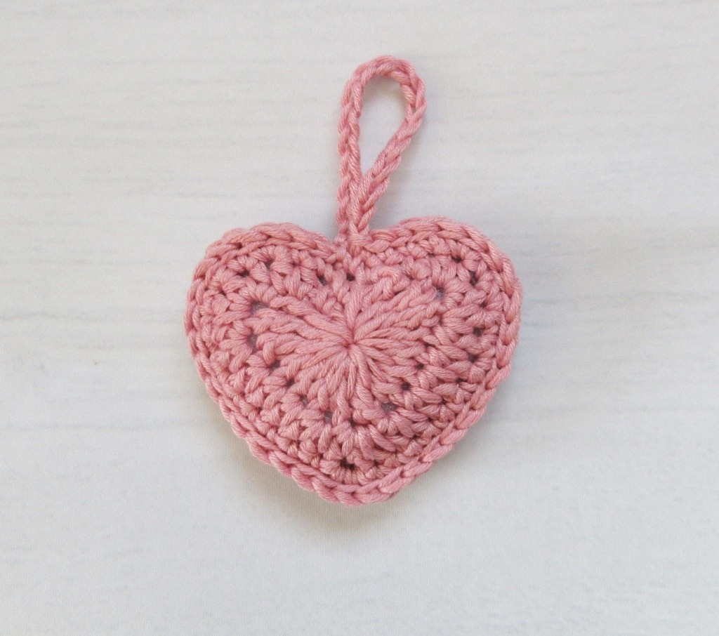 Single Crochet Heart