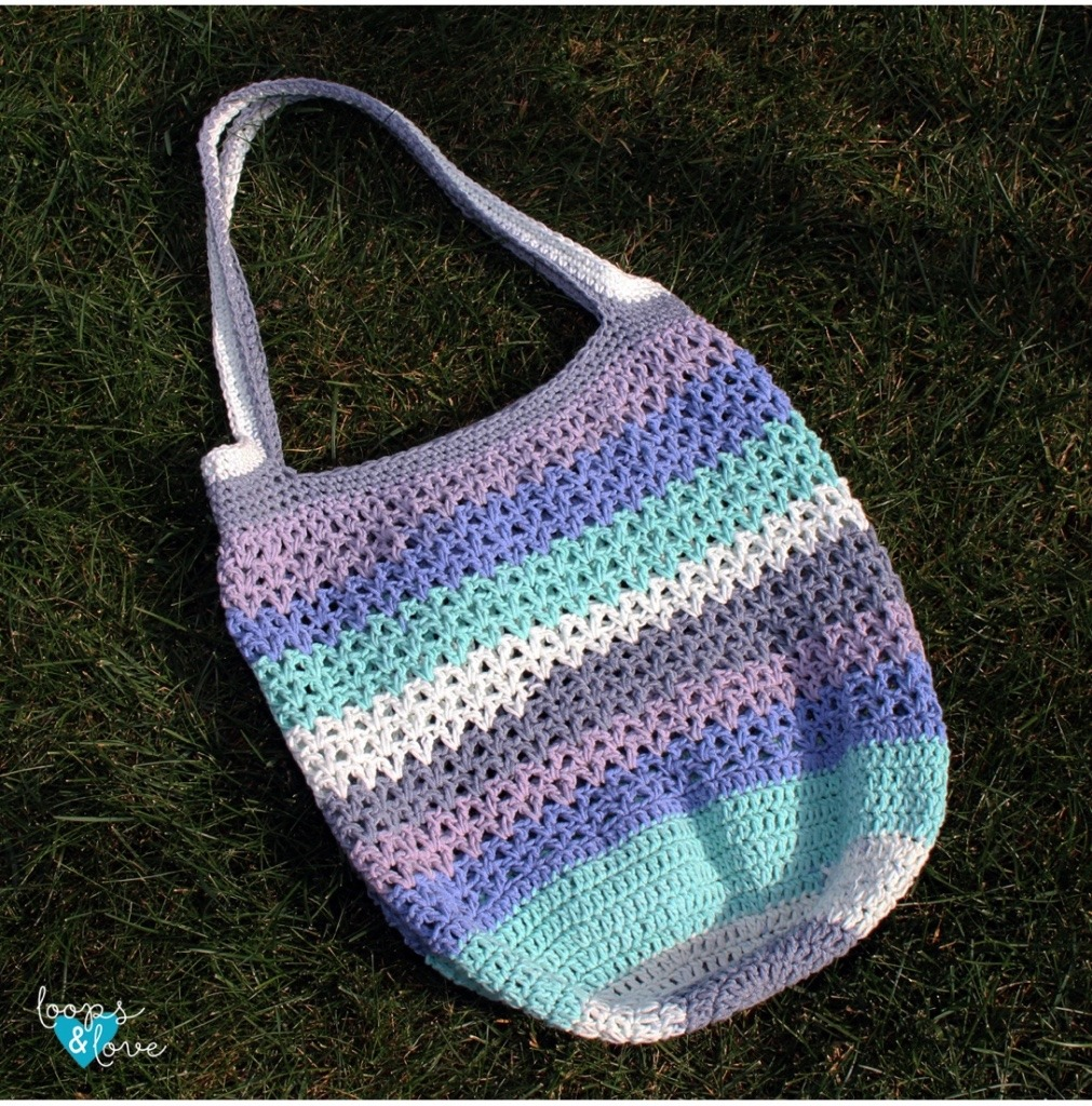 V-Stitch Market Bag