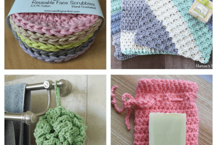 Crochet Bathroom Accessories