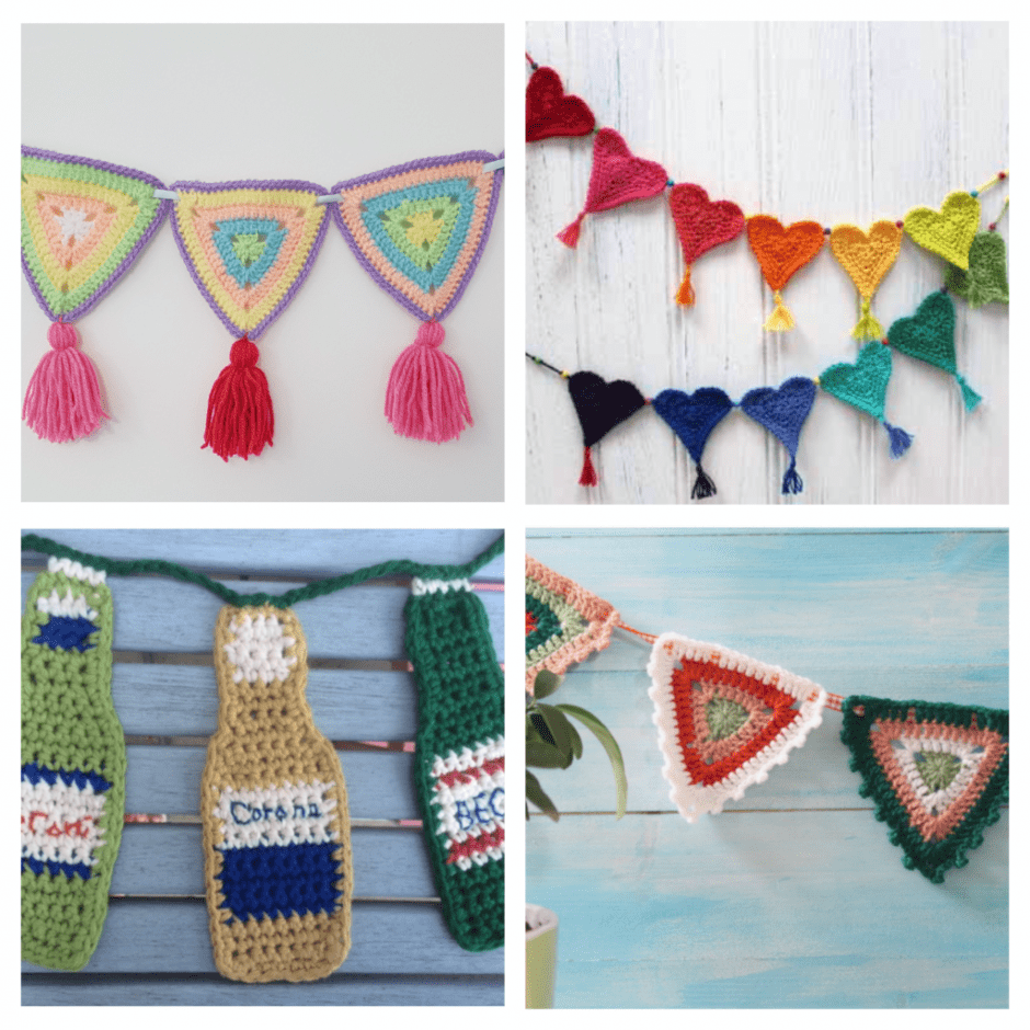Bunting Collage