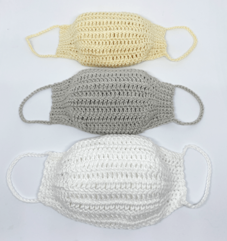 Crochet Face Masks