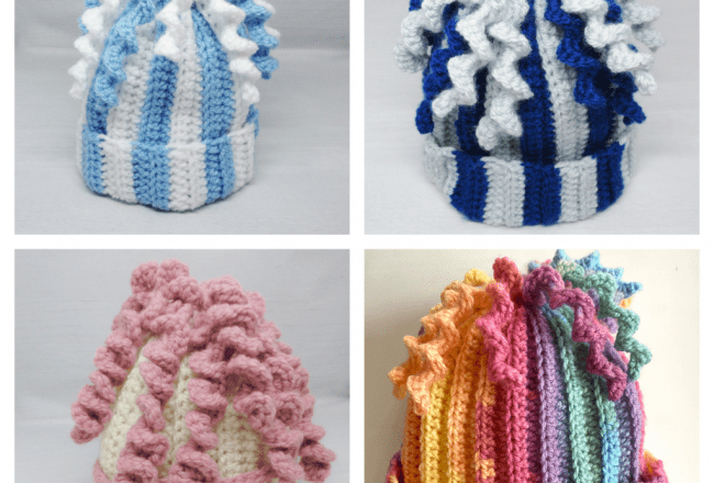 Winter Hat Collage